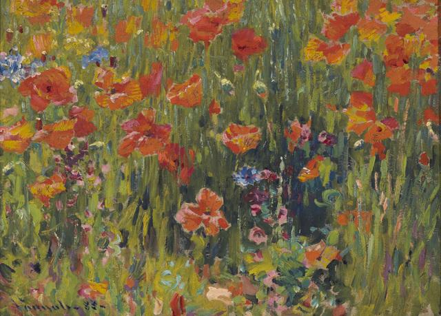 Robert William Vonnoh, 'Poppies', 1888, Indianapolis Museum of Art at Newfields