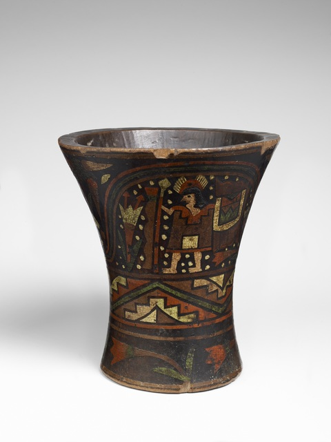 , 'Gobelet cérémoniel (Ceremonial goblet),' 18th century, Musée du quai Branly