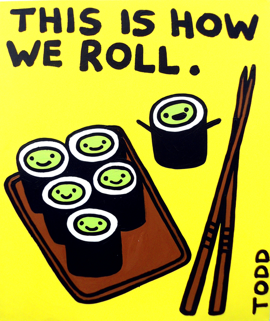 , 'Sushi - This is How We Roll,' , The Ross Art Group Inc.