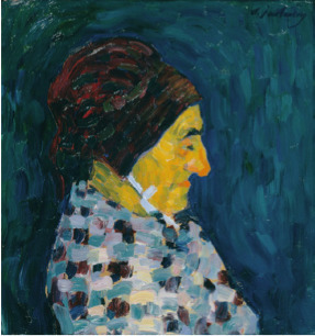 Alexej von Jawlensky, 'Portrait de Madame Sid', ca. 1905, BAILLY GALLERY