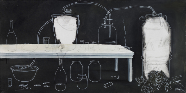 , 'Moonshine Maker,' 2014, Abode