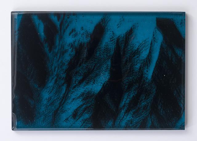 , 'Teal Crater,' 2018, Kopeikin Gallery