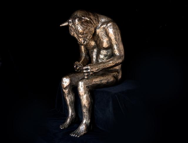 Beth Carter, 'Reading Minotaur (polished bronze)',  , Hugo Galerie