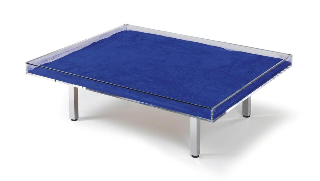 Yves Klein Table Bleue Klein 1963 Artsy