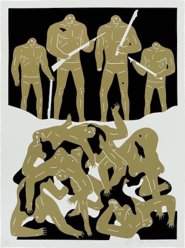 Cleon Peterson, 'The Genocide - White', 2016, Blackline Gallery