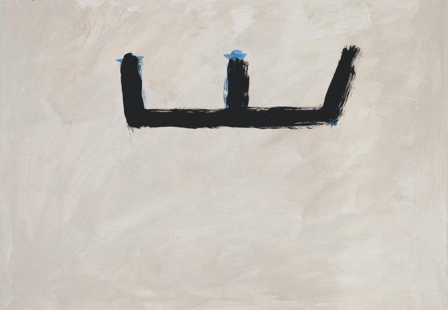 , '[Brushy Open on Buff Ground],' ca. 1983, William Shearburn Gallery