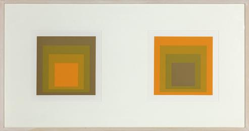 Josef Albers, 'Formulation: Articulation (Diptych),' 1972, Heather James Fine Art: Curator's Choice