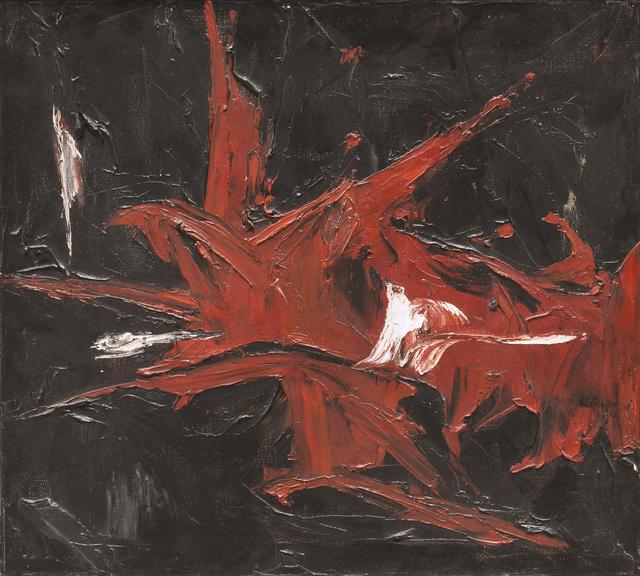 , 'Terre Brulée,' 1962, Canadian Fine Arts