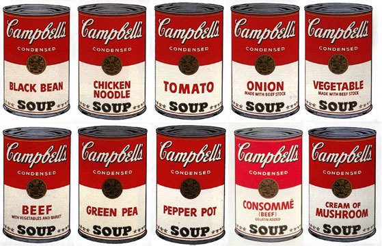 Sunday B. Morning, 'Soup Can Portfolio by Andy Warhol', Marcel Katz Art