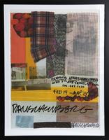 Robert Rauschenberg, Robert Hines Gallery, Seattle