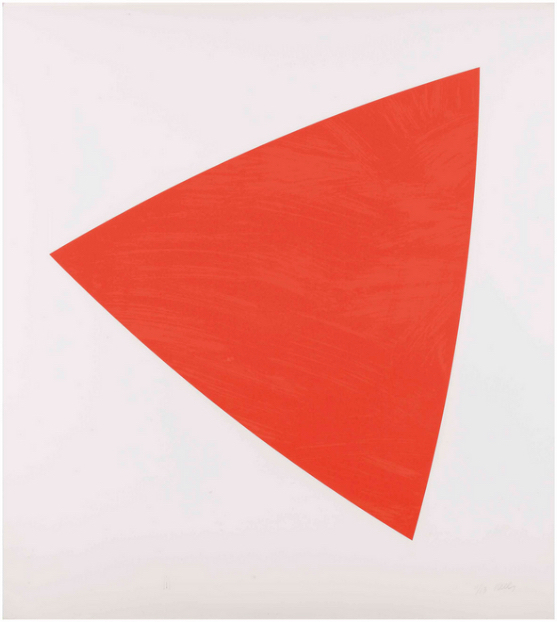Ellsworth Kelly, 'Untitled (Red State II)', 1988, Upsilon Gallery