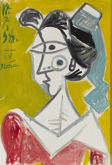 Pablo Picasso, 'L'Arlésienne', 1958,  M.S. Rau