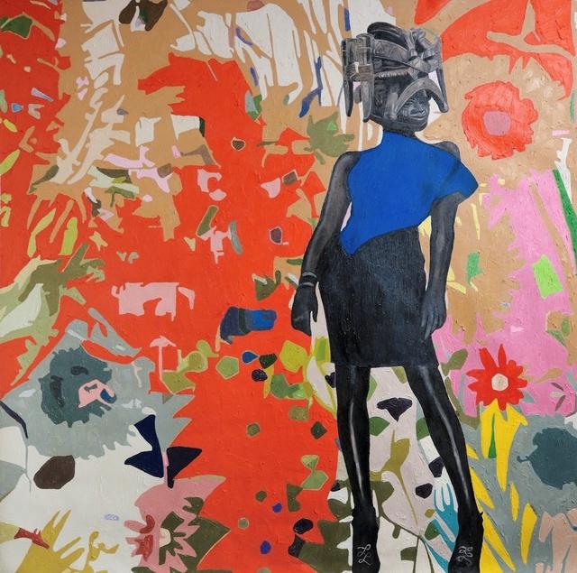 Wole Lagunju, 'Renaissance ', 2017, Painting, Oil on canvas, Ed Cross Fine Art