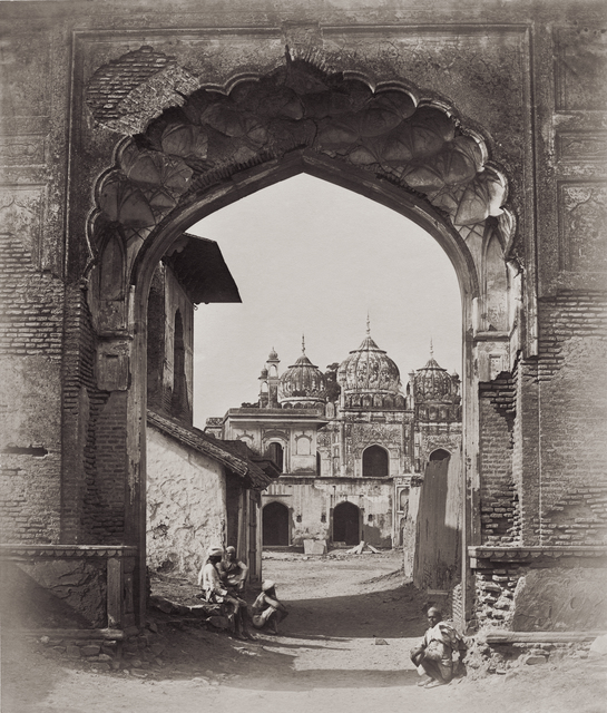, 'Archway in Delhi,' 1858, Getty Images Gallery