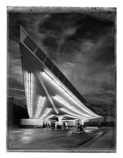 Christopher Thomas, 'Union Gas Station, Los Angeles', 2017, Photography, Pigment print on Aquarelle Arches paper, Galerie XII