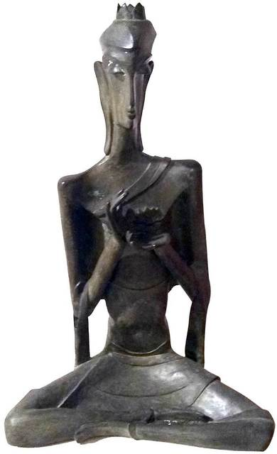 "Niranjan Pradhan, 'Buddha, Bronze Sculpture by Modern Artist ""In Stock""', 2000-2018, Gallery Kolkata"