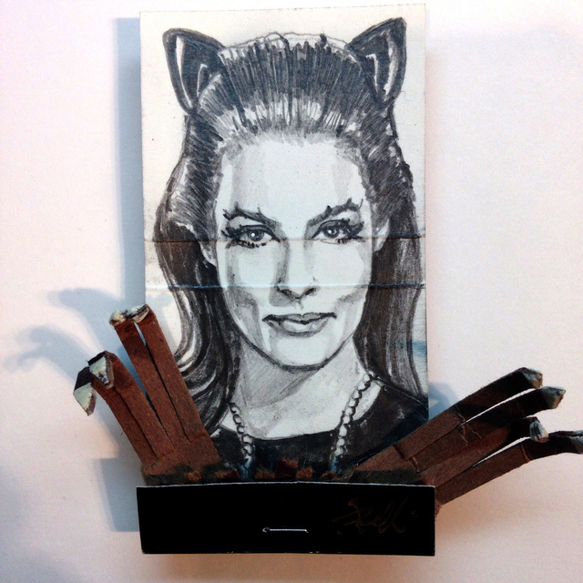 matchbox artists, 'Catwoman', 2015, Muriel Guépin Gallery
