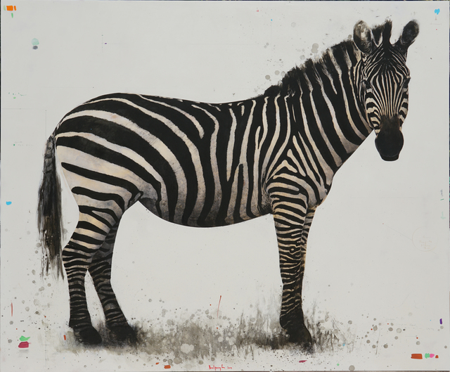 , 'Zebra,' 2019, PIGMENT GALLERY