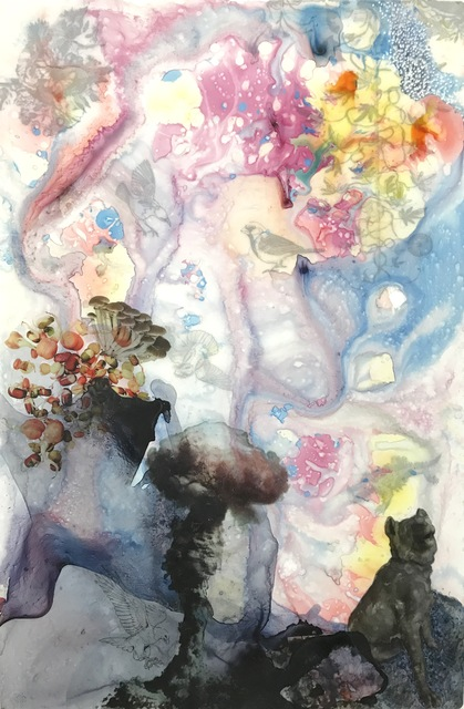 , 'Dog Mushrooms,' 2017, George Billis Gallery