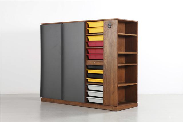 , 'Room divider wardrobe,' 1956-1959, Galerie Patrick Seguin