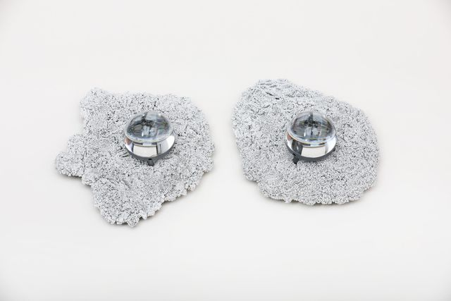 , 'Silvered Caviar Sconces,' 2018, Spazio Nobile
