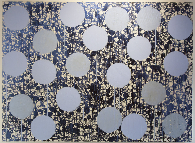 Daniel Orson Ybarra, 'Constellations blue', 2018, Laurent Marthaler Contemporary