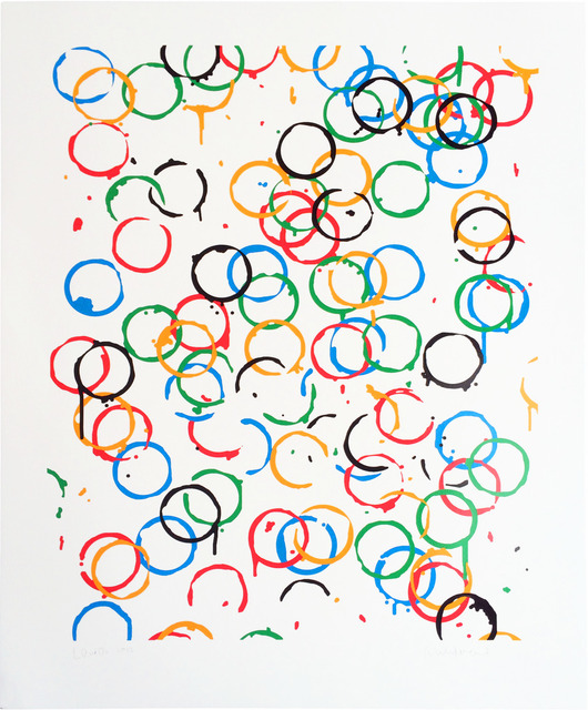 Rachel Whiteread, 'LOndOn 2O12', 2011, Print, Screen Print, Oliver Clatworthy Gallery Auction
