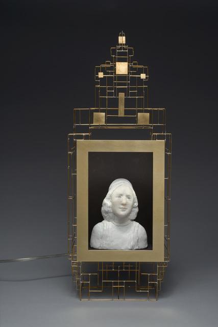 , 'Buste d'homme dans son cadre doré,' 2016, Slete Gallery