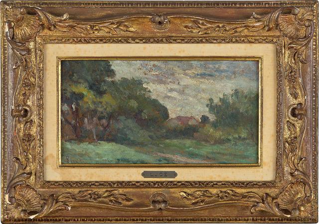 Maximilien Luce, 'Paysage avec maison', ca. 1935, Fairhead Fine Art Limited