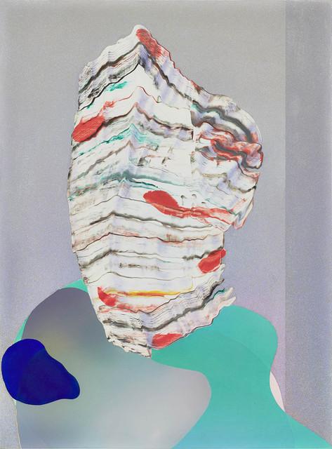 , 'neonatal refractions No 28 (Head),' 2018, Kadel Willborn