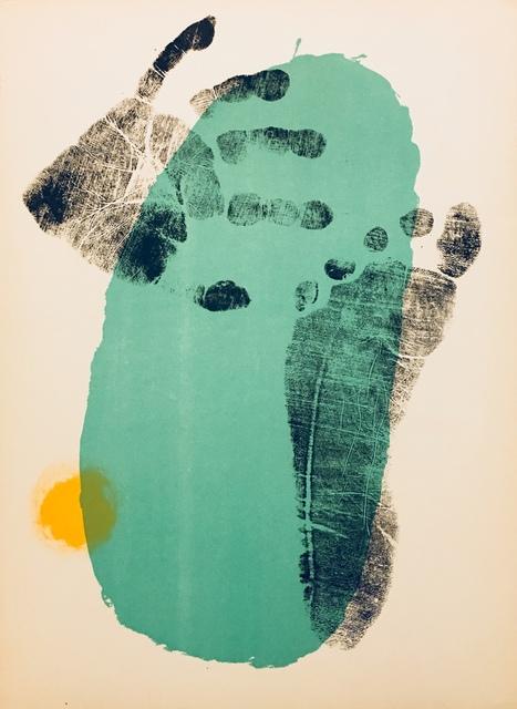 Joan Miró, 'From 'Derrière le Miroir - Joan Miró: Aquarelles, Album Femmes, Haï-Ku'', 1956, Eames Fine Art