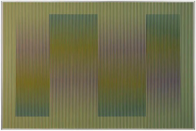 , 'Physichromie #1860,' 2013, Galerie Pascal Janssens