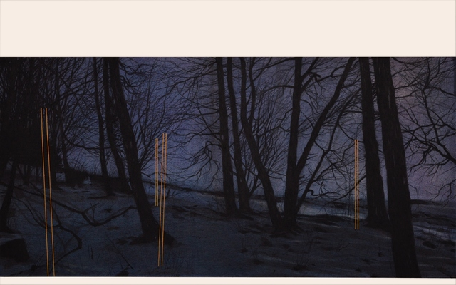 Andrew Mackenzie, 'Poles Apart', 2020, Drawing, Collage or other Work on Paper, Charcoal, pastel and goache on Fabriano paper, &Gallery