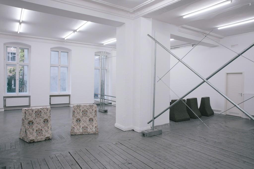 Exhibition view, Schutzgebiet, 2017 Photo: Eike Walkenhorst, Berlin  Courtesy the artist and EIGEN + ART Lab
