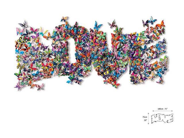 , 'Love Flutters By,' 2014, Eden Fine Art