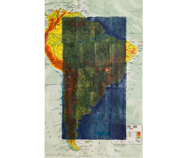 , 'Obstrucción del Sur II,' 1974, Herlitzka + Faria