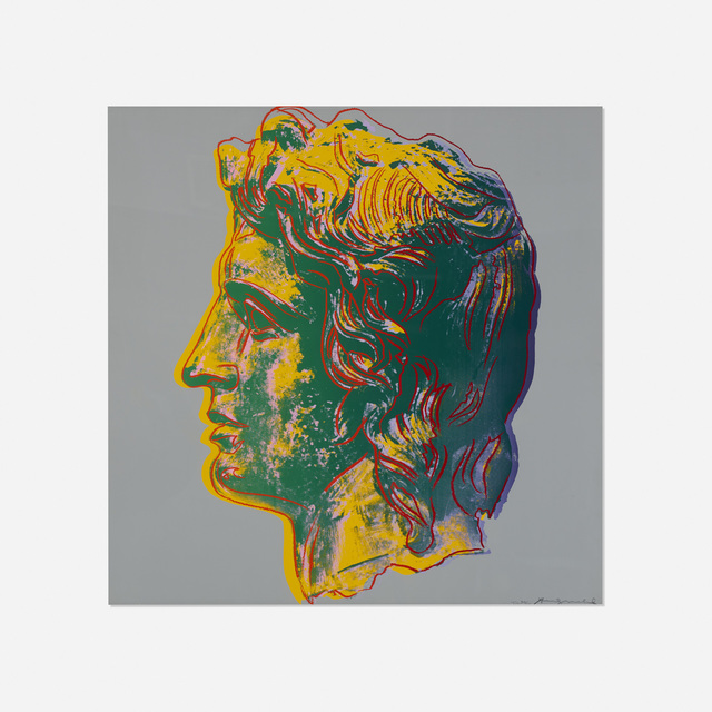 Andy Warhol, 'Alexander The Great', 1982, Rago/Wright