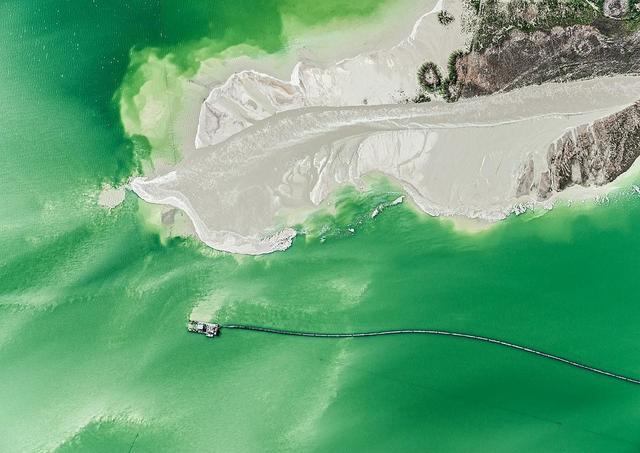 , 'Aerial Views, Phosphate Mining 01,' 2014, Artistics