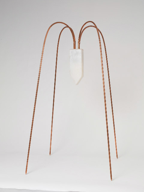 Maria Elena González, 'Popsicle', 2008, Sculpture, Copper and silicone, Hirschl & Adler