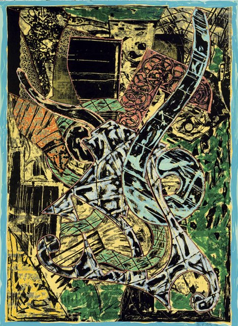 Frank Stella, 'Yellow Journal', 1982, Anders Wahlstedt Fine Art