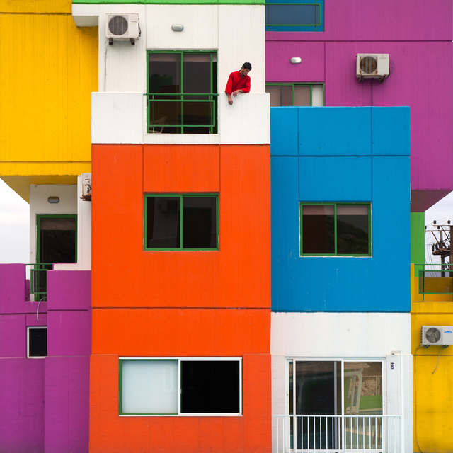 , 'Rubiks House,' 2014, Catherine Edelman Gallery