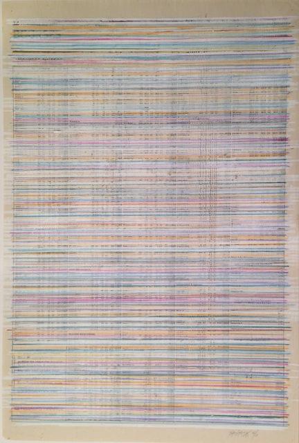 , 'Journal de Genève Censurado - Bourses suisses, 14-6-96,' 1996, Henrique Faria | Buenos Aires