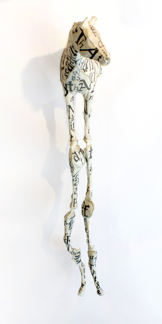 , 'Poetry Horse,' 2011, Arthur Roger Gallery