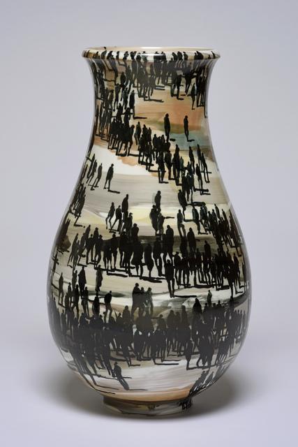 , 'Foule,' 2017, Sèvres