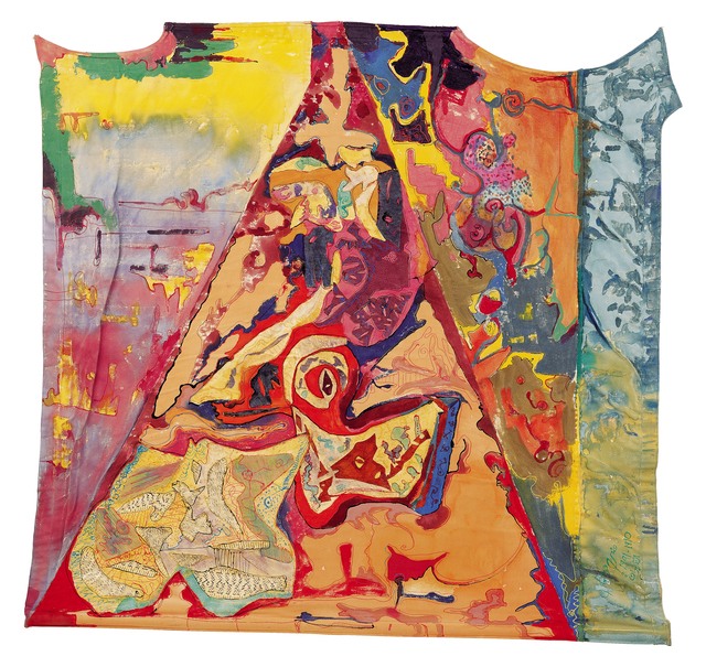 , 'The Mural Part - 4: The Mosquito Net ,' 1990, Hafez Gallery