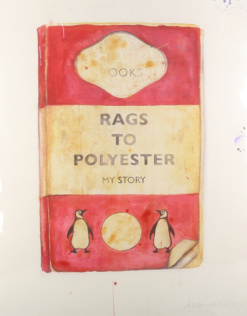 Harland Miller, 'Rags To Polyester', 2014, Chiswick Auctions