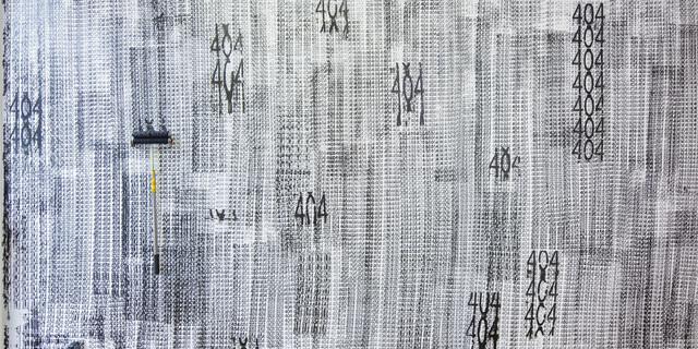 , '404,' 2017, David Zwirner