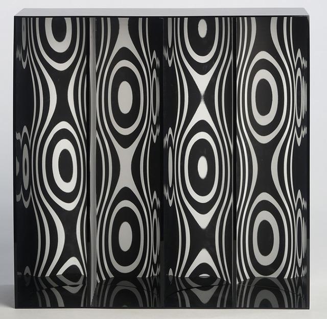 , 'Ondes par Déplacement du Spectateur,' 1965-2013, Del Infinito
