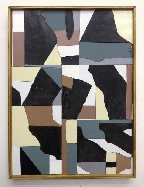 , 'Bodenfliesen Collage,' 2013, Gestalten