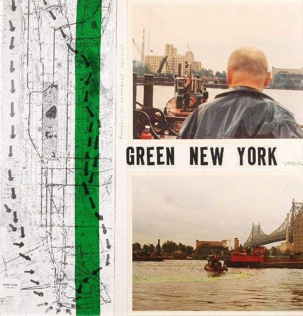 , 'Green New York,' 1970, Herlitzka + Faria